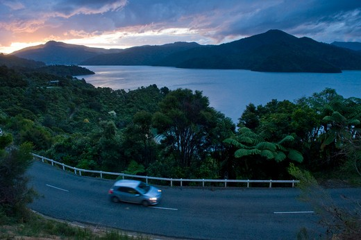 Queen Charlotte Sound, Picton,South Island,New Zealand. : Stock Photo