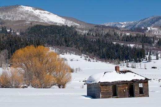 Stock Photo: 1701R-33941 Near Steamboat Springs, Colorado.