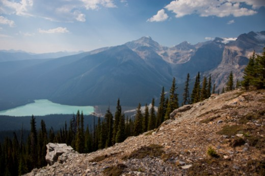 Stock Photo: 1701R-34021 Yoho National Park, British Columbia, Canada.