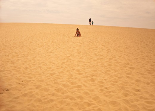 Stock Photo: 1701R-34329 Jockey's Ridge State Park, Nags Head, Outer Banks, North Carolina.