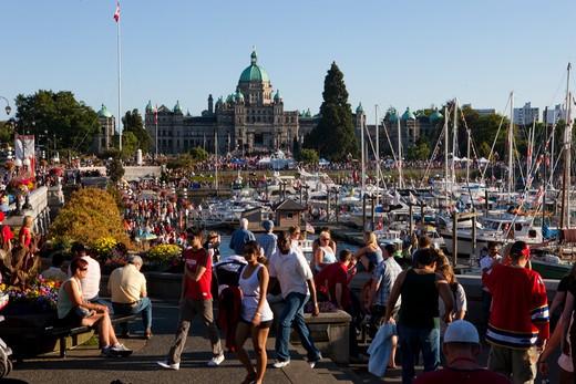 Stock Photo: 1701R-34802 Victoria, British Columbia, Canada.