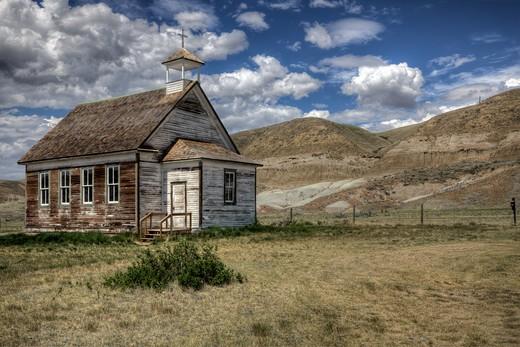 Dorothy, Alberta, Canada. : Stock Photo