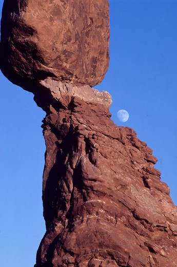 Stock Photo: 1701R-35866 Arches National Park, Moab, Utah, USA.