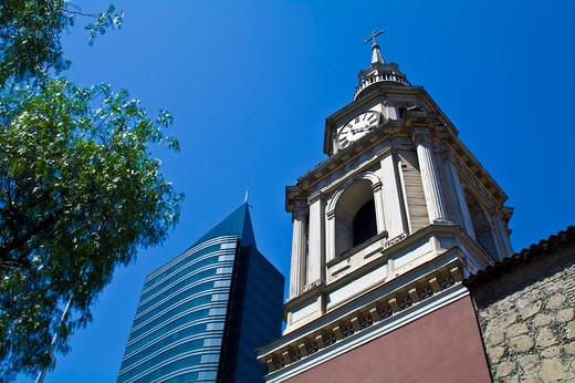 Iglesia San Francisco, Santiago, Chile : Stock Photo