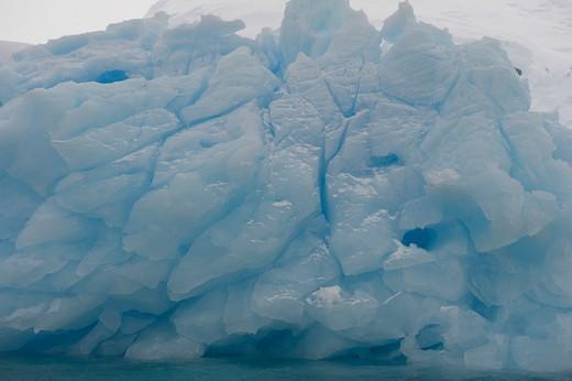 Antarctic Peninsula, Antarctica, Crystal Sound : Stock Photo
