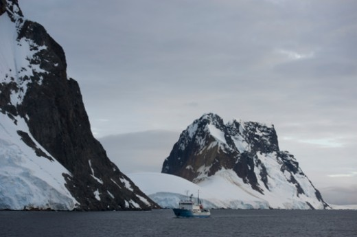 Antarctic Peninsula, Antarctica, Lemaire Channel : Stock Photo
