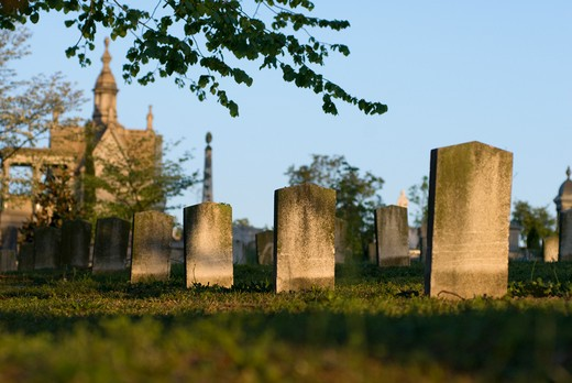 Atlanta, Oakland Cemetery, Georgia, USA : Stock Photo