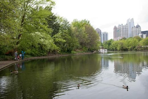 Atlanta, Georgia, USA Atlanta, Piedmont Park, Georgia, USA : Stock Photo
