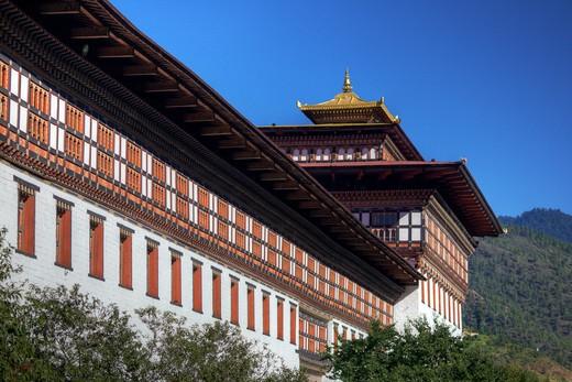 Thimphu, Bhutan, Asia. : Stock Photo