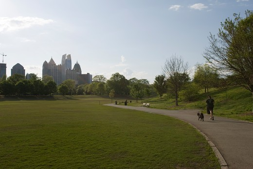 Stock Photo: 1701R-37240 Piedmont Park, Atlanta, Georgia, USA