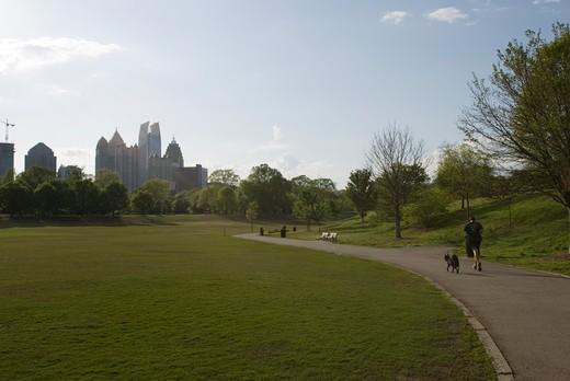 Piedmont Park, Atlanta, Georgia, USA : Stock Photo