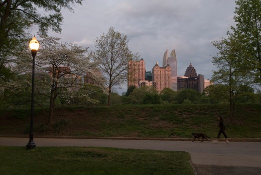 Piedmont Park, Atlanta, Georgia, USA : Stock Photo