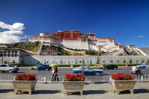 Stock Photo: 1701R-37338 Lhasa, Tibet, People's Republic of China.