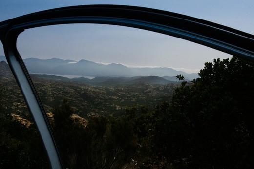Near L'Ile Rousse, Corsica. : Stock Photo