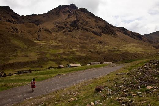Stock Photo: 1701R-37979 Yanamayo, Peru