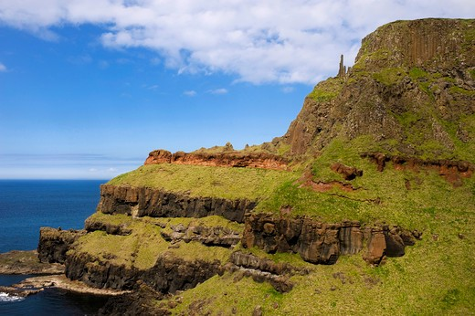 Giant's Causeway, County Antrim, Northern Ireland : Stock Photo