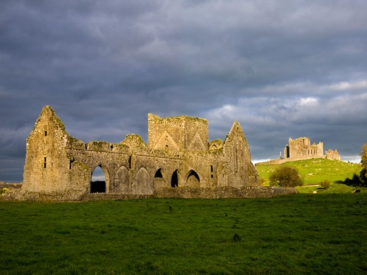 Stock Photo: 1701R-38067 Rock of Cashel, County Tipperary, Ireland