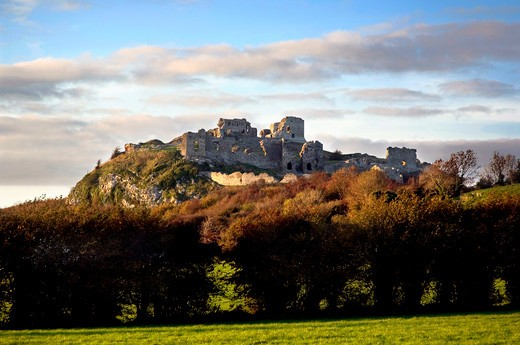 Rock of Dunamase, County Laois, Ireland : Stock Photo