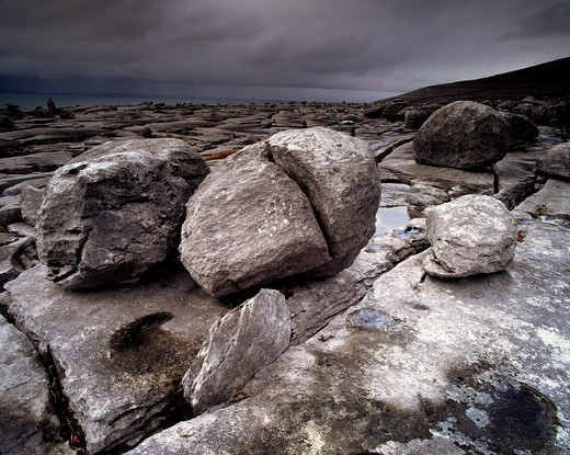 The Burren, Co.Clare, Ireland : Stock Photo