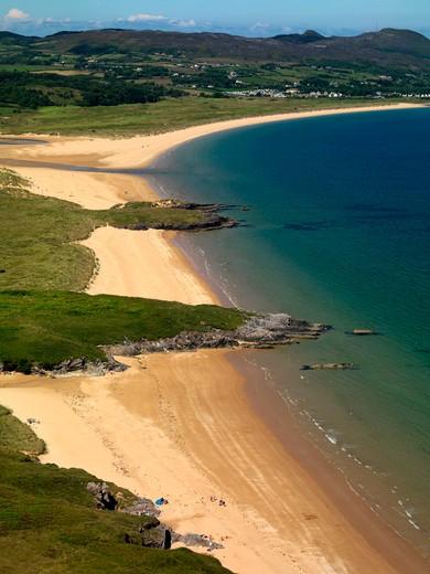 Stock Photo: 1701R-38477 Ballymastocker Bay, County Donegal, Ireland