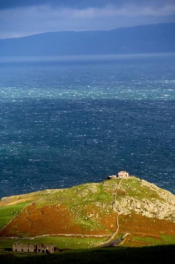 Stock Photo: 1701R-39343 Torr Head, County Antrim, Northern Ireland