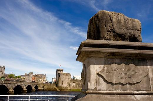 Limerick City, Ireland : Stock Photo
