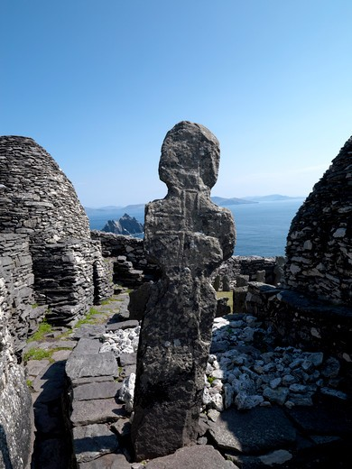 Stock Photo: 1701R-39419 Skellig Michael, County Kerry, Ireland