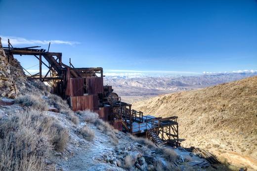 Skidoo, Death Valley National Park, California. : Stock Photo