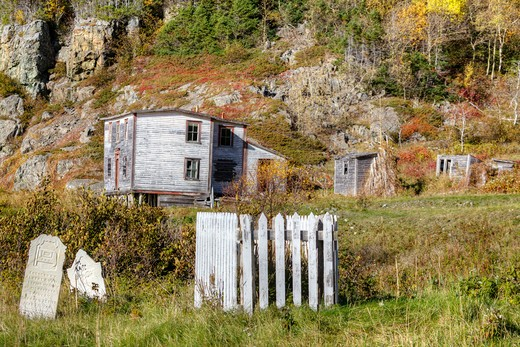 Indian Burying Place, Newfoundland and Labrador, Canada. : Stock Photo