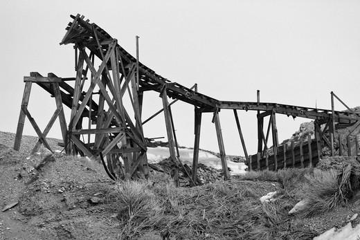 Stock Photo: 1701R-40616 Cerro Gordo, Inyo County, California.