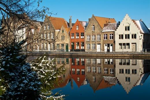 Brugge, Belgium. : Stock Photo