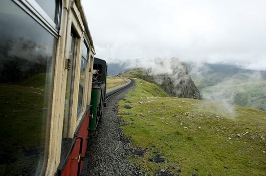 Mount Snowdon, Wales, England. : Stock Photo