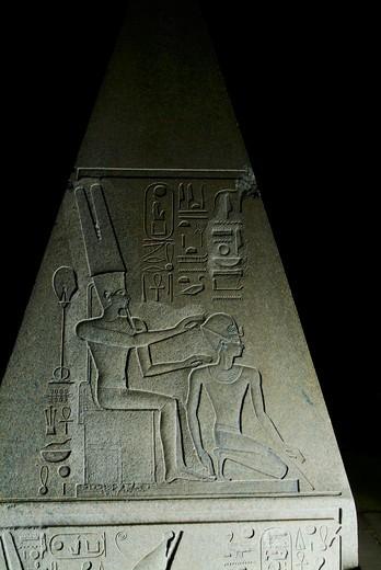 Stock Photo: 1701R-41640 Temple of Karnak , Luxor , Egypt .