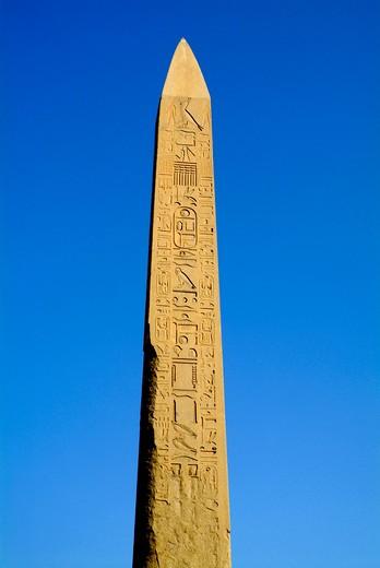 Temple of Karnak, Luxor, Egypt. : Stock Photo