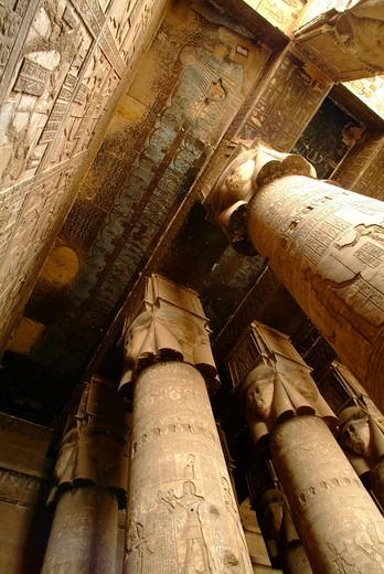 Dendera Temple, Egypt : Stock Photo