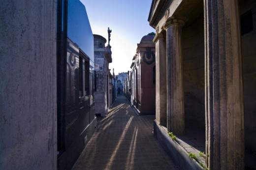 La Recoleta Cemetery, Recoleta, Buenos Aires, Argentina. : Stock Photo