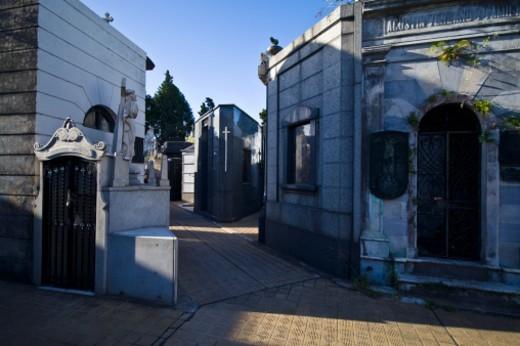 Stock Photo: 1701R-43156 La Recoleta Cemetery, Recoleta, Buenos Aires, Argentina.