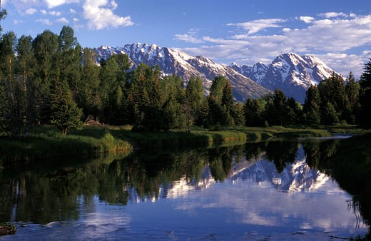 Stock Photo: 1701R-4446 Grand Teton National Park, Wyoming, United States of America.