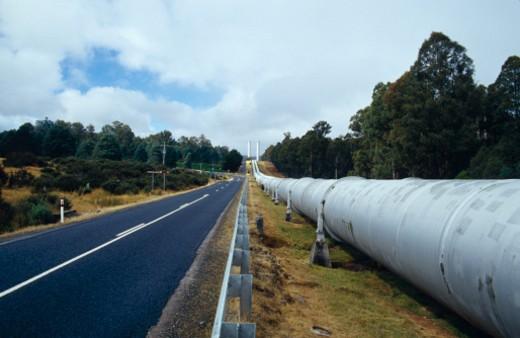 Stock Photo: 1701R-44707 Tungatinan, Tasmania, Australia.