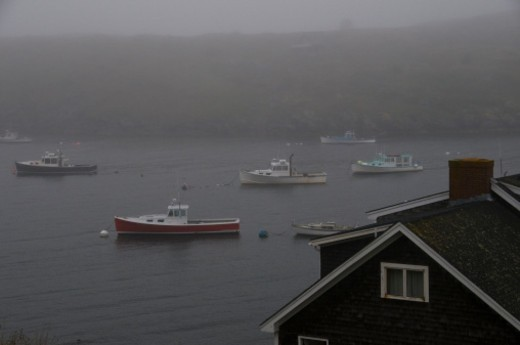 Monhegan Island, Maine, United States of America. : Stock Photo