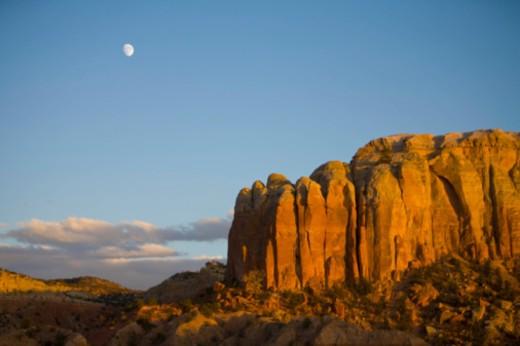 Abiquiu, near Santa Fe, New Mexico, United States of America. : Stock Photo