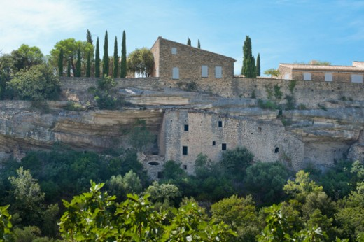 Stock Photo: 1701R-49148 Gordes, France
