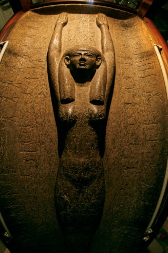 Stock Photo: 1701R-50743 Sky goddess Nut on sarcophagus of Pharaoh Merneptah, Ramses II's son.