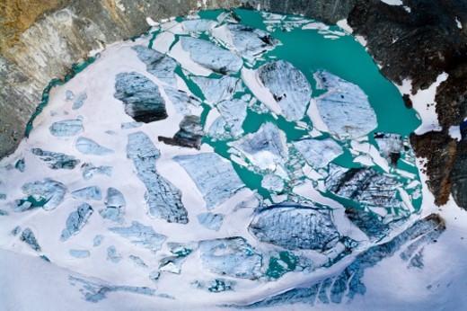 Ushuaia, Martial Mountains, Fuegian Andes, Ushuaia Bay, Tierra del Fuego Archipelago, Straits of Magellan, Tierra del Fuego Province, Patagonia, Argentina. : Stock Photo
