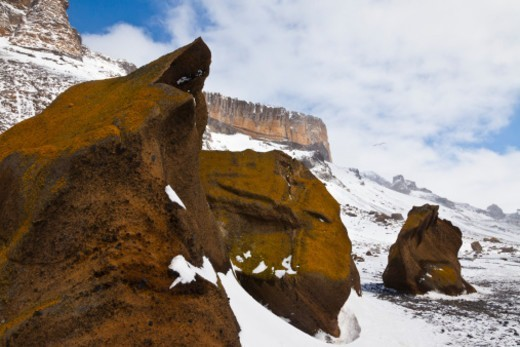 Brown Bluff, Antarctic Peninsula, Antarctica. : Stock Photo