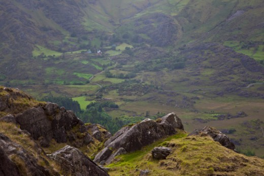 Healy Pass, Beara Peninsula, County Cork, Republic of Ireland : Stock Photo