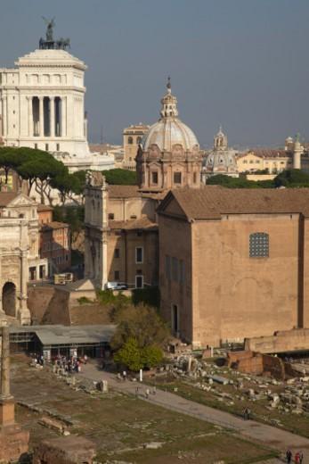 Stock Photo: 1701R-54893 Palatine, Rome, Italy.