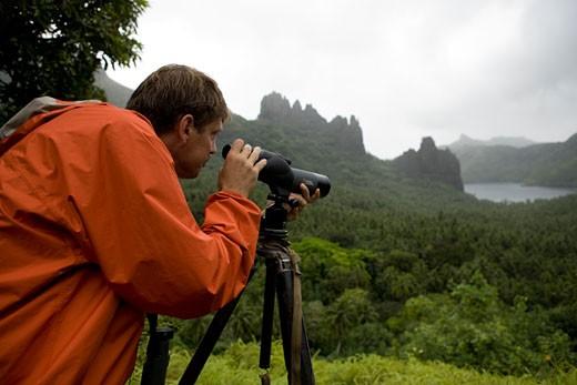 Stock Photo: 1701R-5742 Nuku Hiva, Marquesas Islands, French Polynesia.