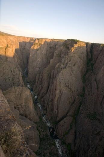 Stock Photo: 1701R-6798 Black Canyon of the Gunnison NP, Colorado.