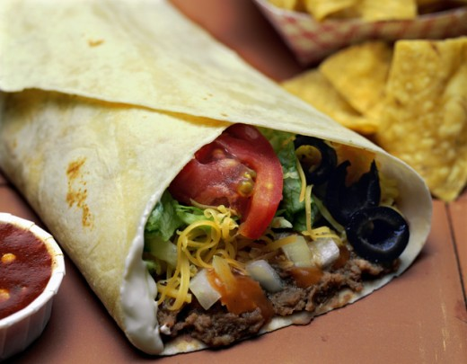 Stock Photo: 172-6471A Mexican Fast Food